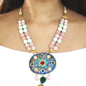NAVRATAN STONE NECKLACE